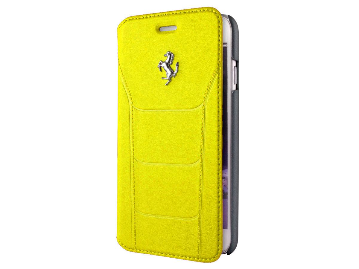 Ferrari 488 GTB Bookcase - Leren iPhone 6/6s hoesje Geel