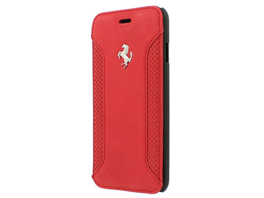 Ferrari F12 Series Book Case - Leren iPhone 6/6S hoesje