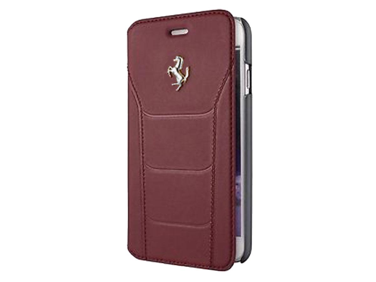Ferrari 488 Classic Bookcase - Leren iPhone 6/6s hoesje Burgundy