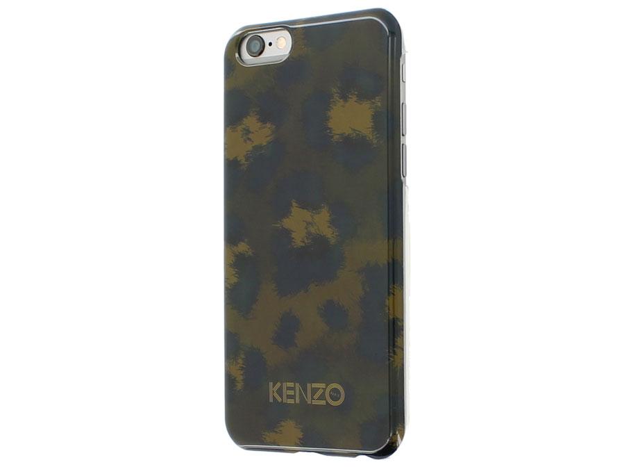 Kenzo Leopard Kaki Hardcase - Case voor iPhone 6/6S