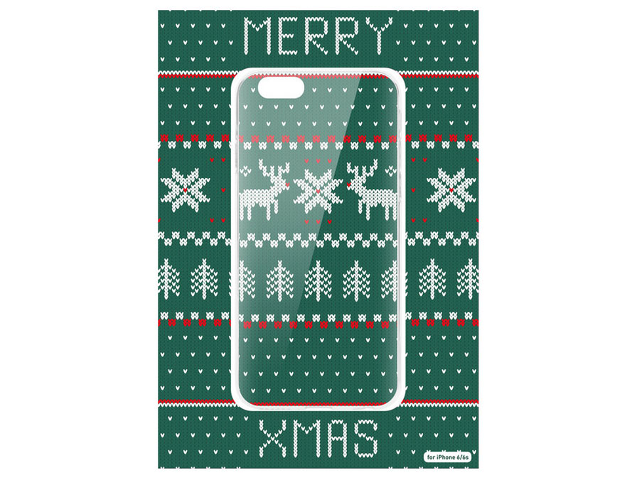 Ugly Christmas Sweater Kerst Case - iPhone 6/6s hoesje