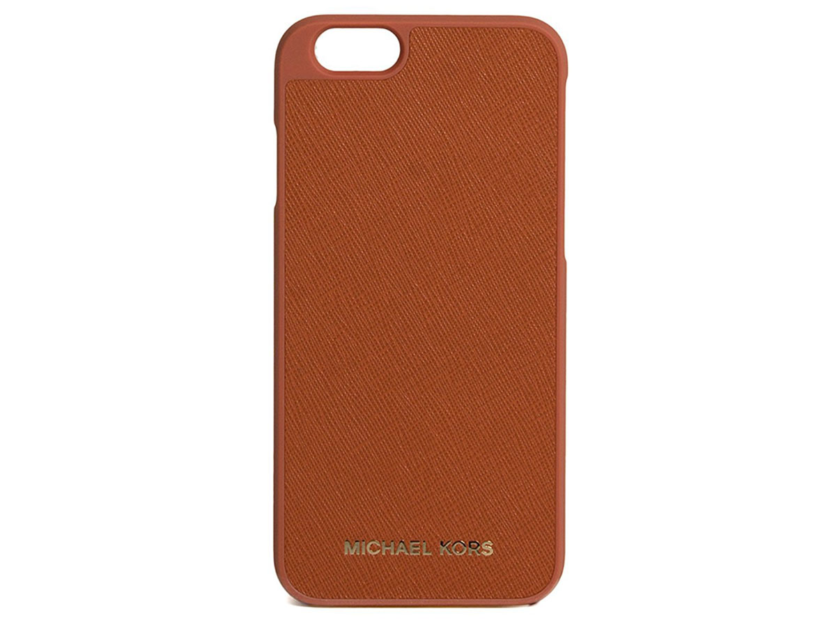 Michael Kors Case Saffiano Orange - iPhone 6/6s hoesje