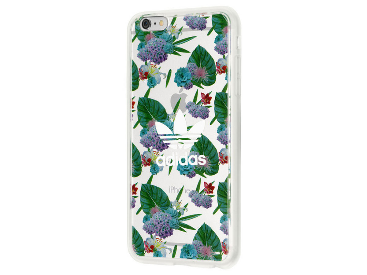 adidas Flower TPU Case - iPhone 6+/6s+ hoesje
