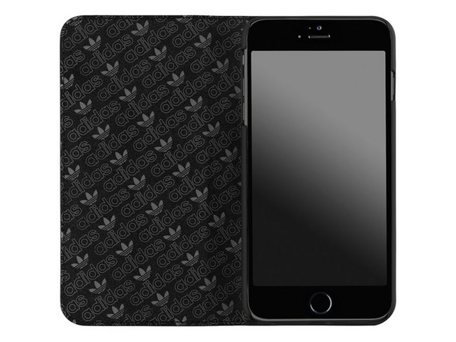 adidas iPhone 6 Plus/6S Plus hoesje - Bookcase Black