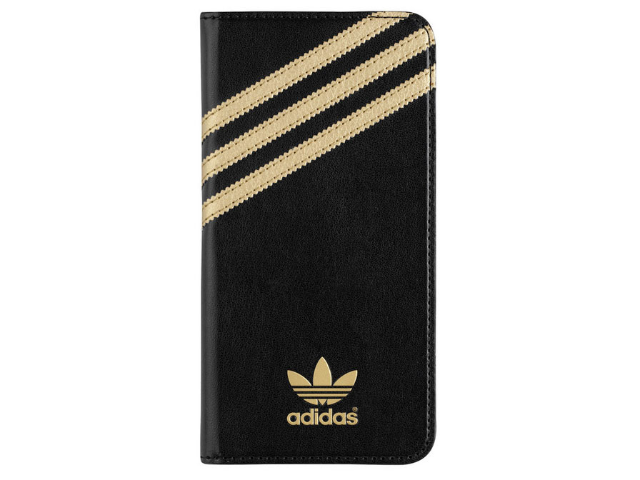 adidas iPhone 6 Plus/6S Plus hoesje - Bookcase Gold