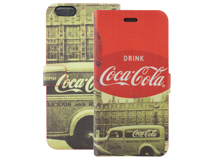 Coca-Cola iPhone 6 Plus/6S Plus Booklet Case - City Cab