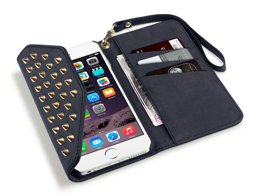 Covert Studs Wallet Case - iPhone 6 Plus/6S Plus hoesje