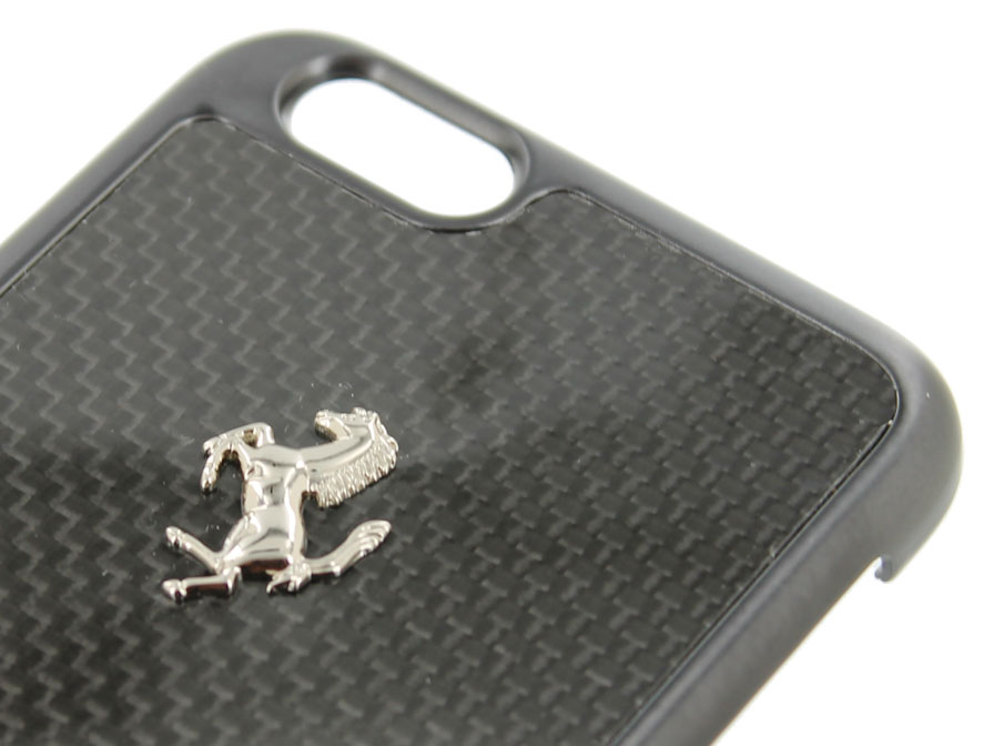 Ferrari GT Carbon Hard Case - iPhone 6+/6s+ hoesje
