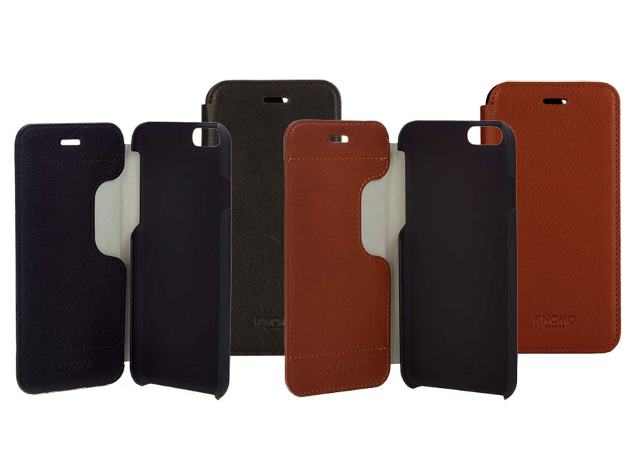 Knomo Leather Folio - iPhone 6 Plus/6S Plus hoesje