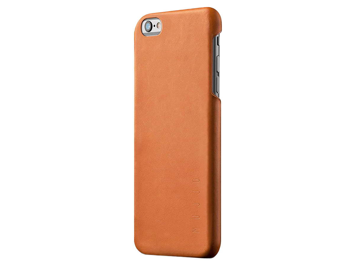 Mujjo Leather Case - iPhone 6+ 6S+ hoesje ... 0d92f7d69a4ba