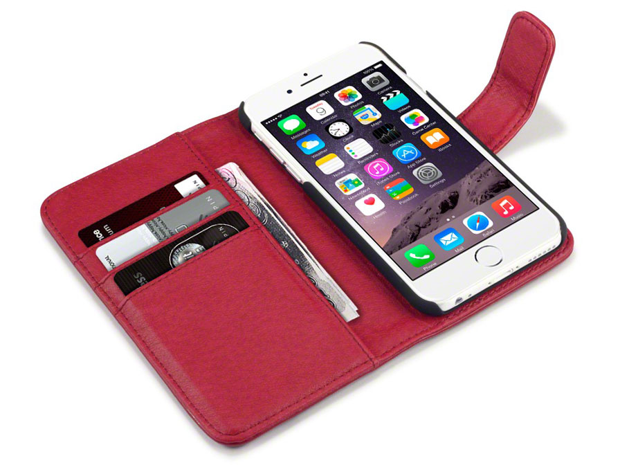 CaseBoutique Leather Wallet - iPhone 6 Plus/6S Plus hoesje