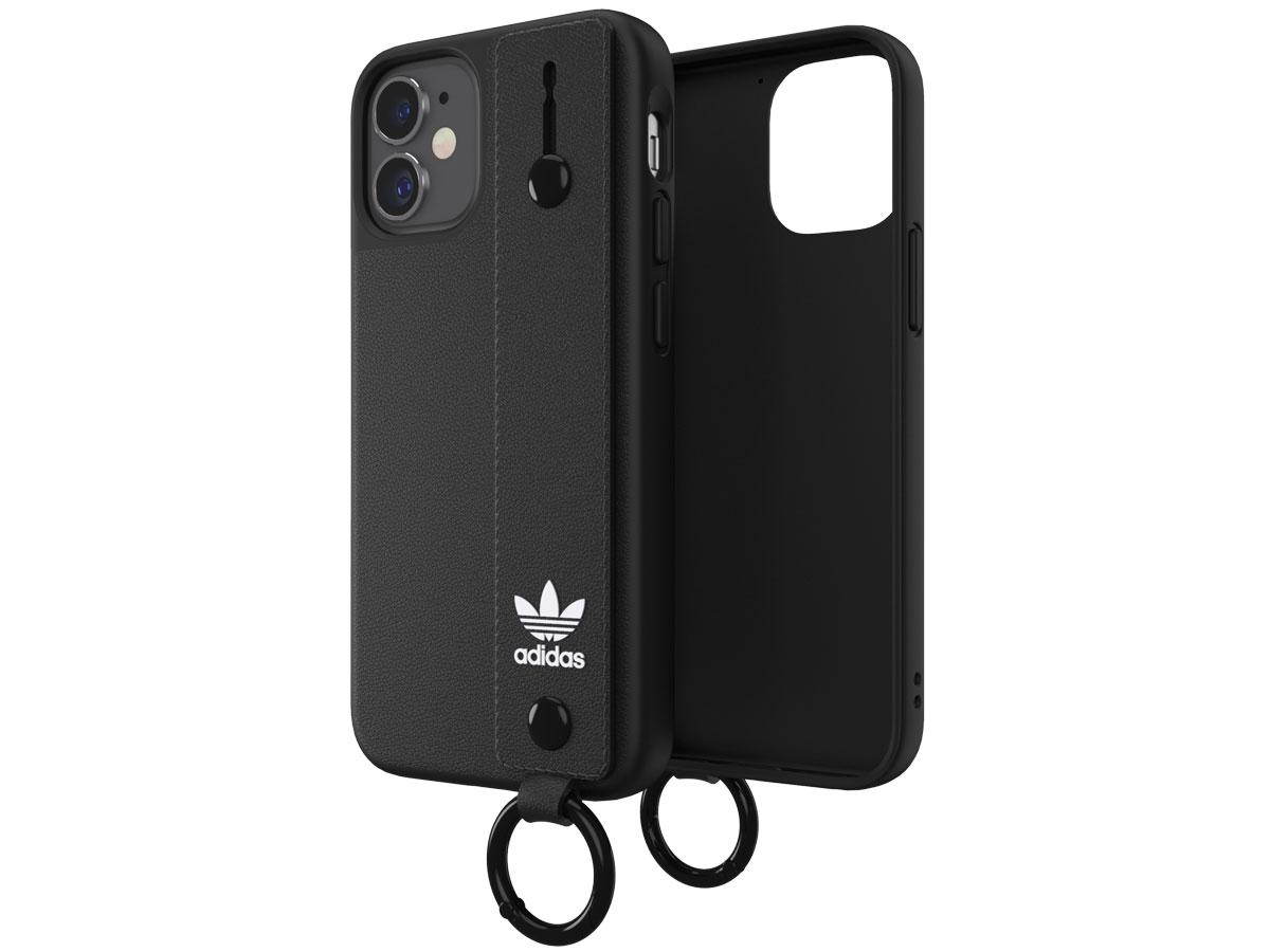 Adidas Originals Handstrap Case Zwart - iPhone 12 Mini hoesje