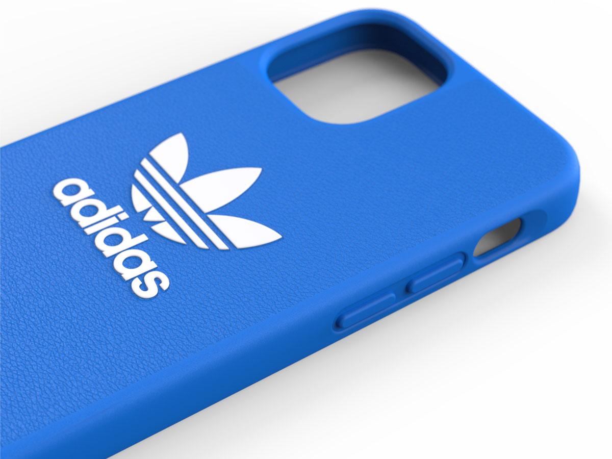 Adidas Originals Logo Case Blauw - iPhone 12 Mini hoesje
