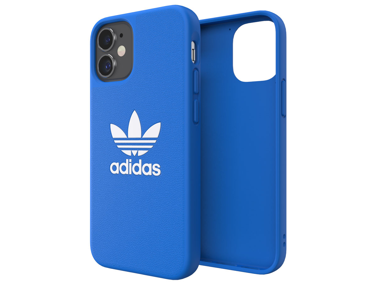 Adidas Originals Logo Case Blauw - iPhone 12 Mini hoesje