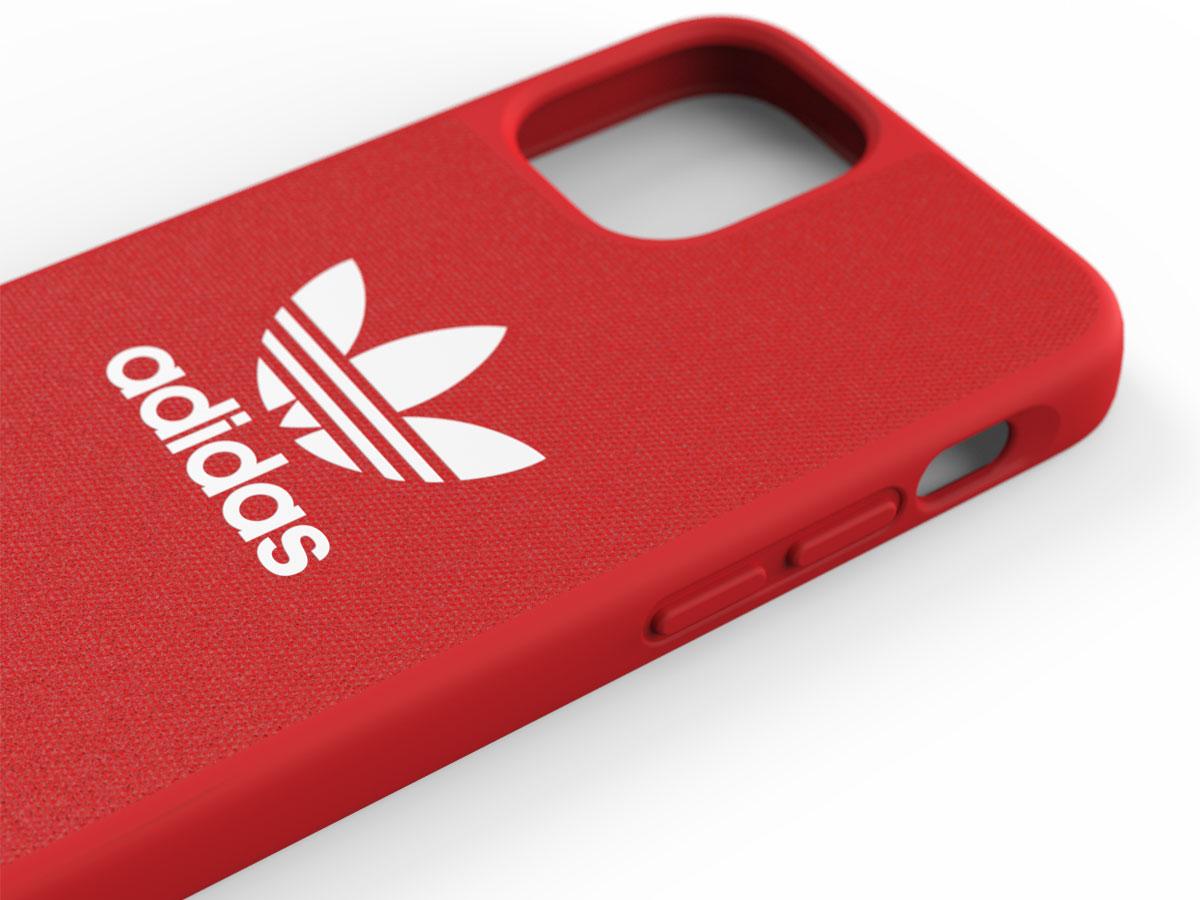 Adidas Originals Logo Case Rood - iPhone 12 Mini hoesje