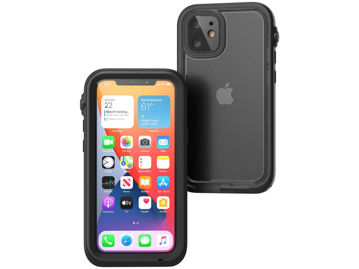 Catalyst Waterproof Case - Waterdicht iPhone 12 Mini hoesje Zwart