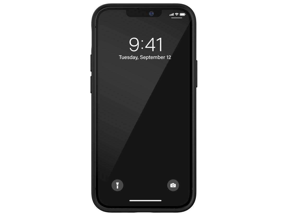 Diesel Embroided Case Zwart/Lime - iPhone 12 Mini hoesje