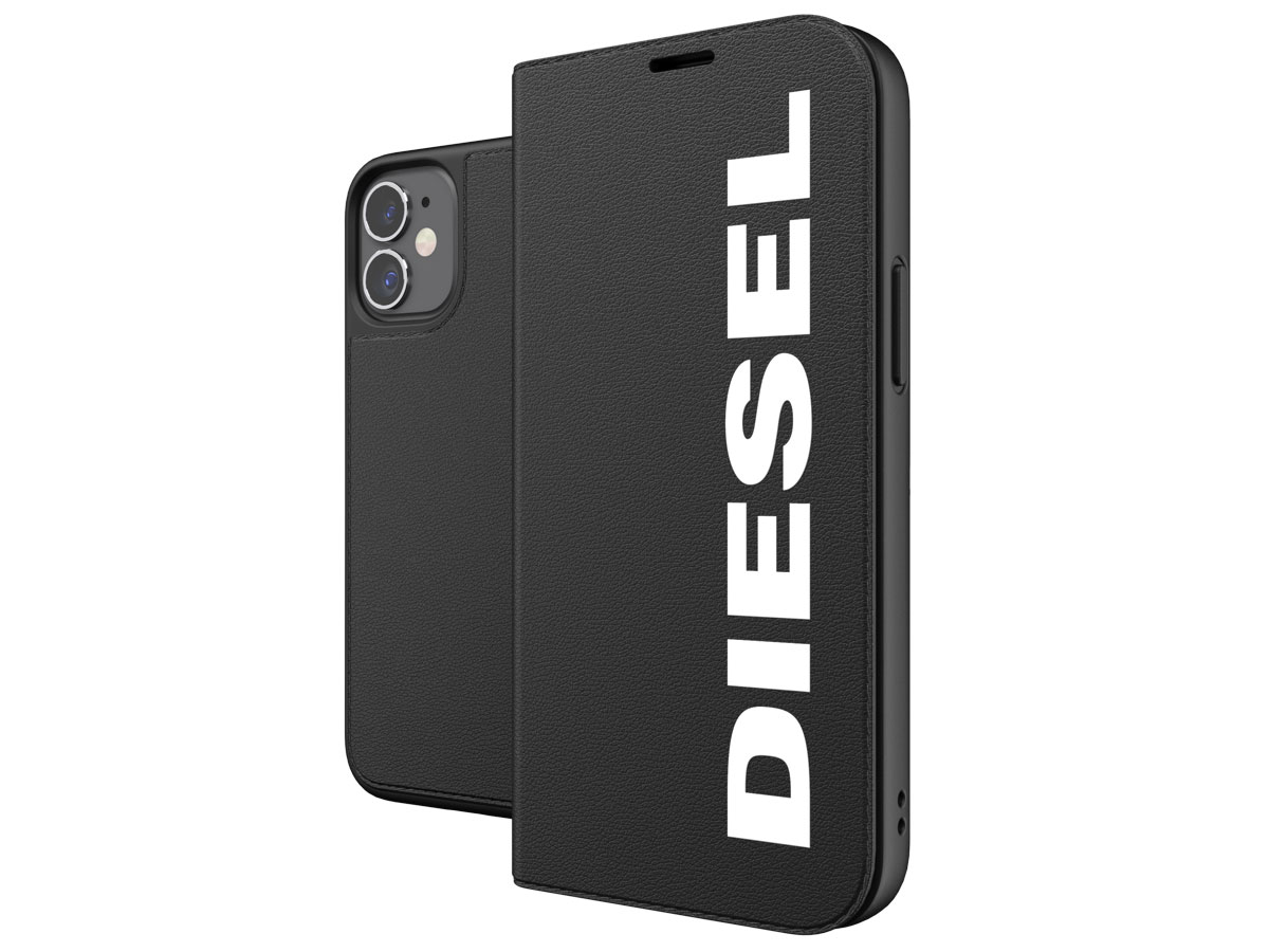 Diesel Logo Booklet Case - iPhone 12 Mini hoesje