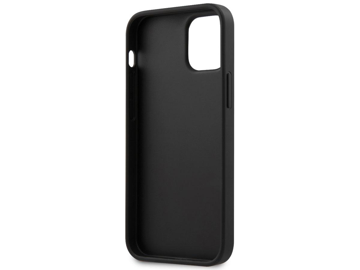 Guess 4G Triangle Case Bruin - iPhone 12 Mini hoesje