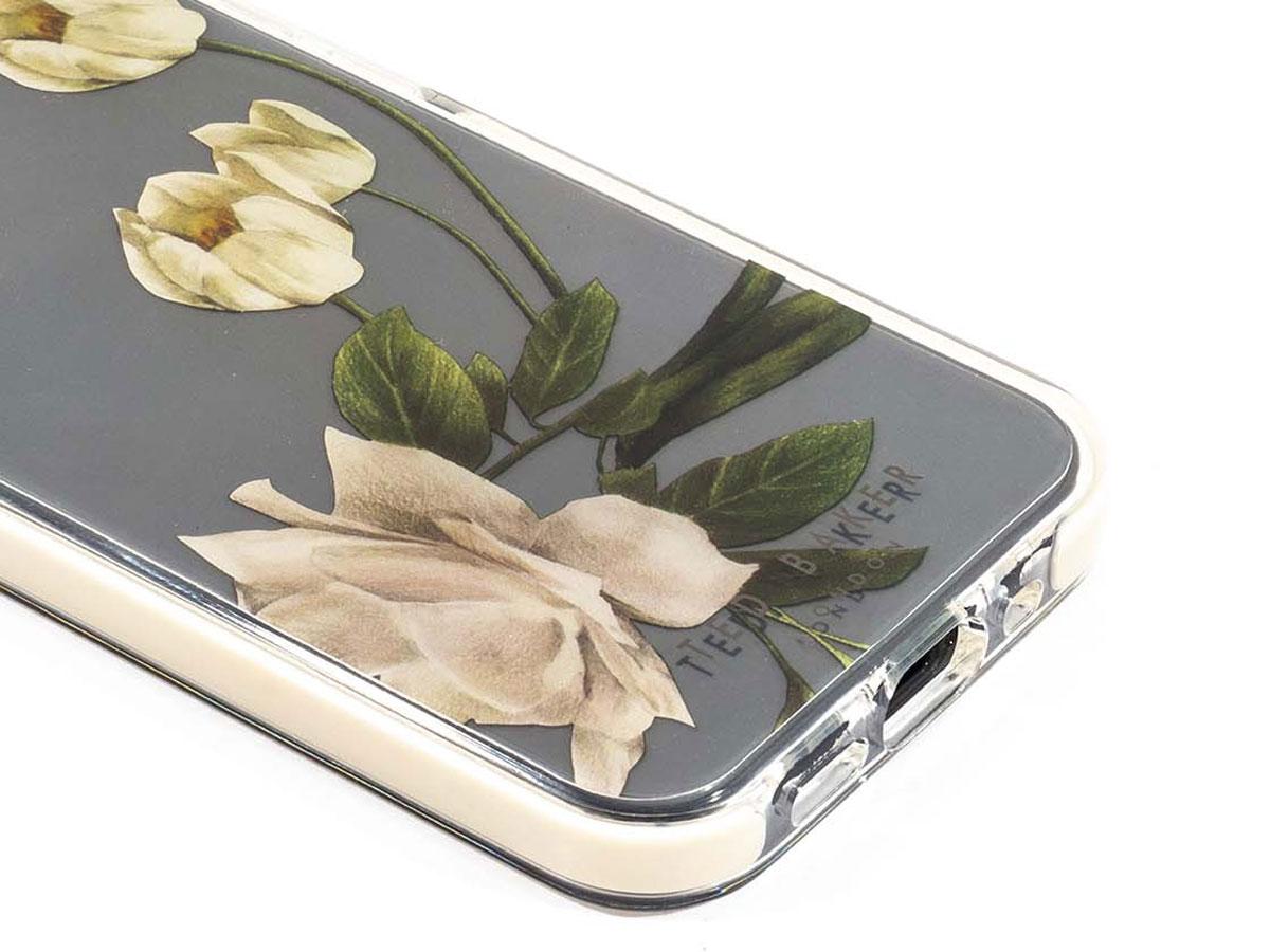 Ted Baker Elderflower Anti-Shock Case - iPhone 12 Mini Hoesje