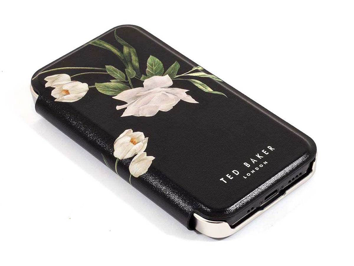 Ted Baker Elderflower Mirror Folio Case - iPhone 12 Mini Hoesje