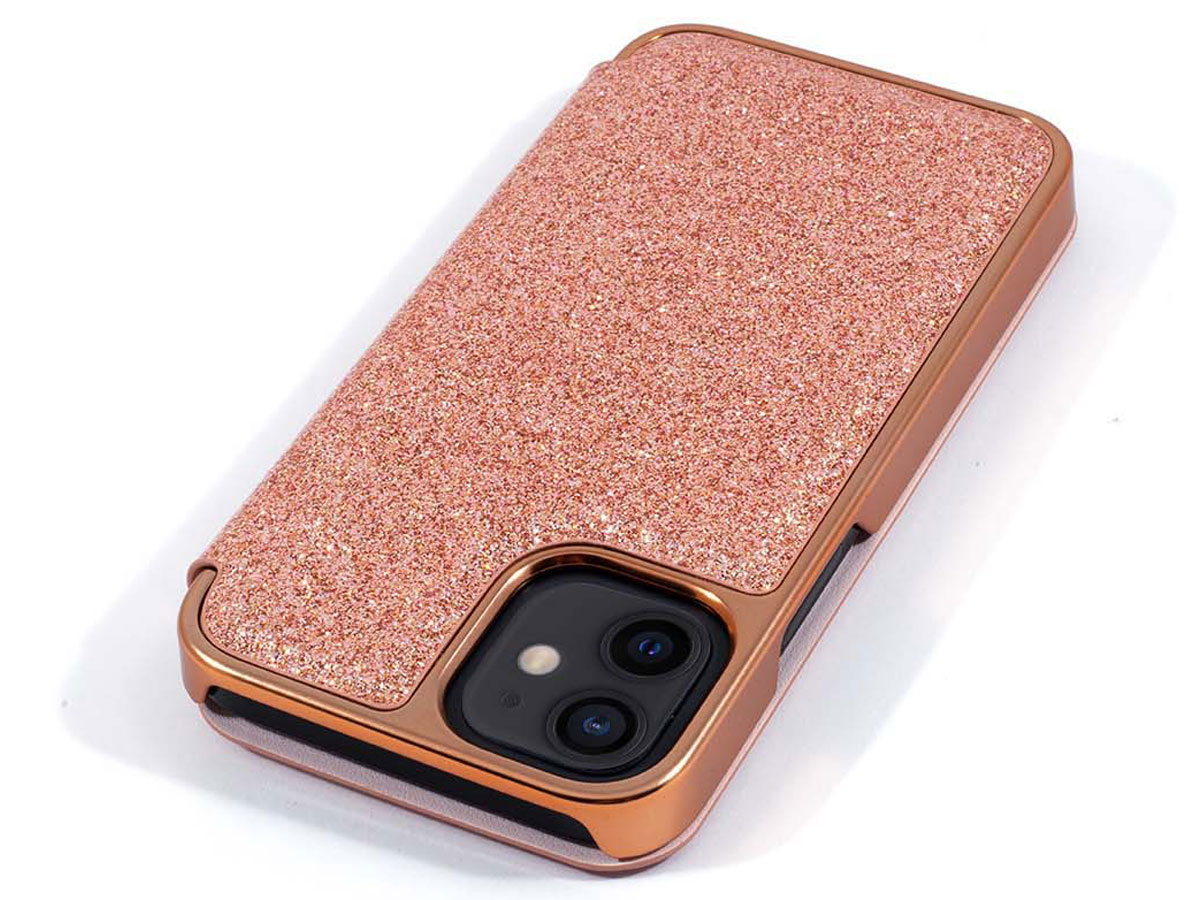 Ted Baker Glitsie Folio Case - iPhone 12 Mini Hoesje