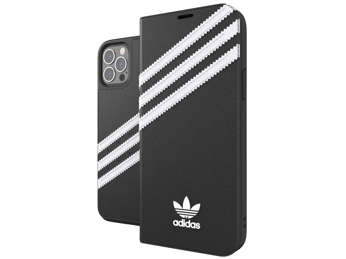 Adidas Originals Booklet Case - iPhone 12/12 Pro hoesje Zwart