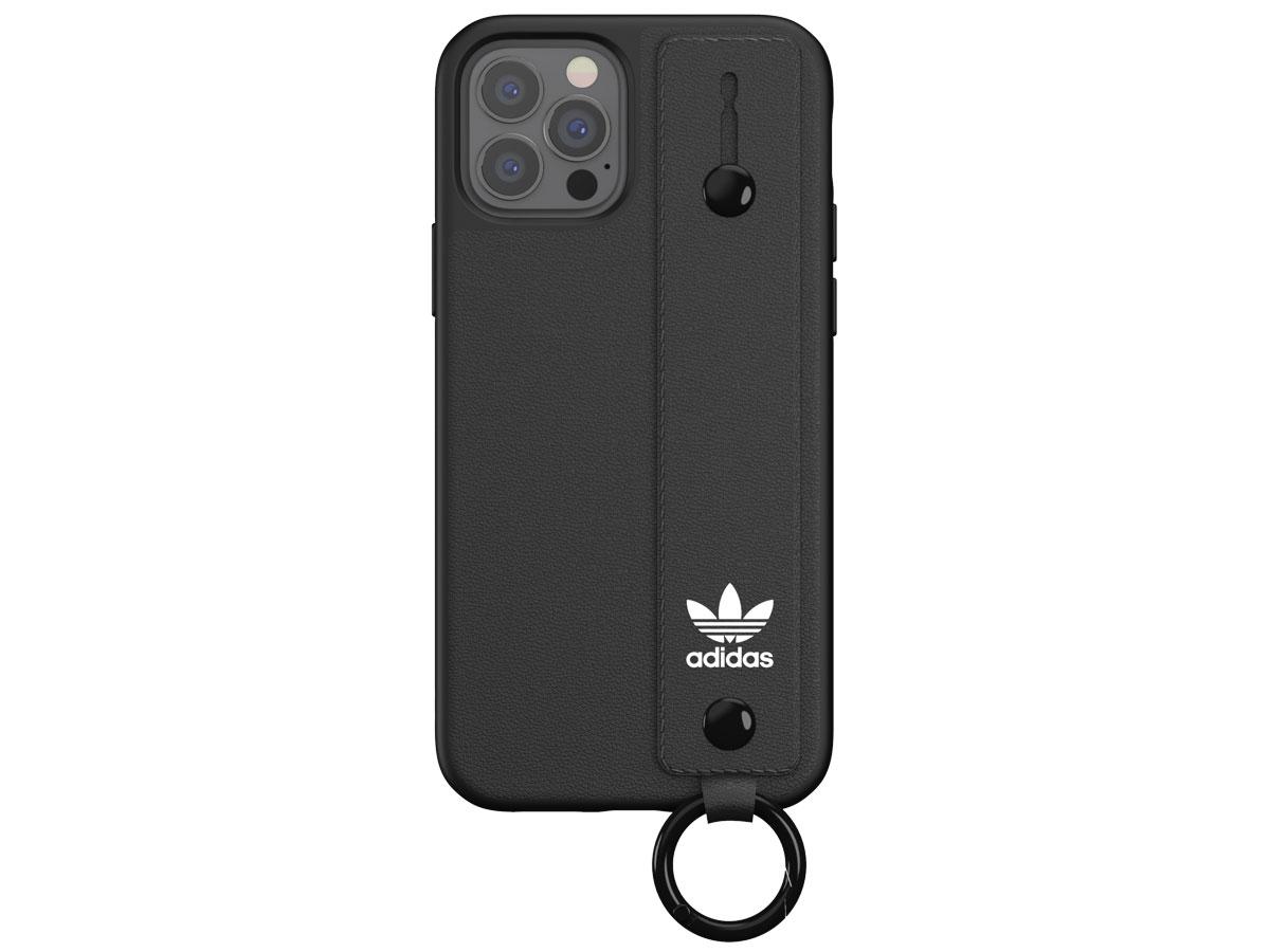 Adidas Originals Handstrap Case Zwart - iPhone 12/12 Pro hoesje