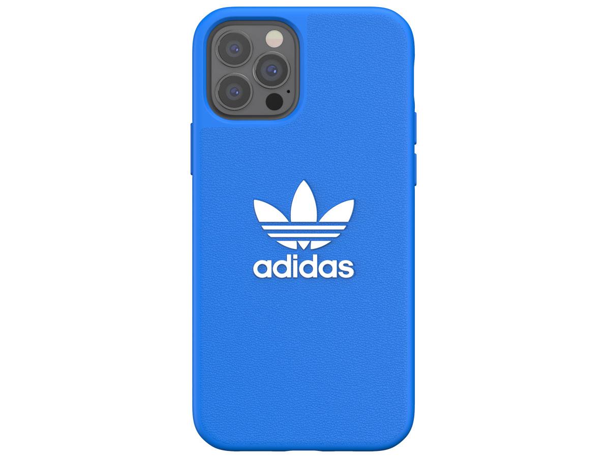 Adidas Originals Logo Case Blauw - iPhone 12/12 Pro hoesje