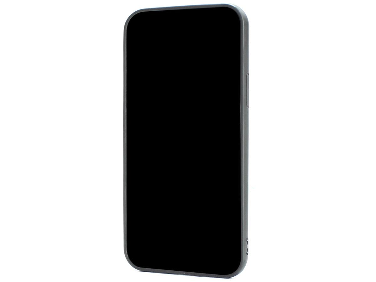 Audi R8 Series Carbon Case Zwart - iPhone 12/12 Pro hoesje
