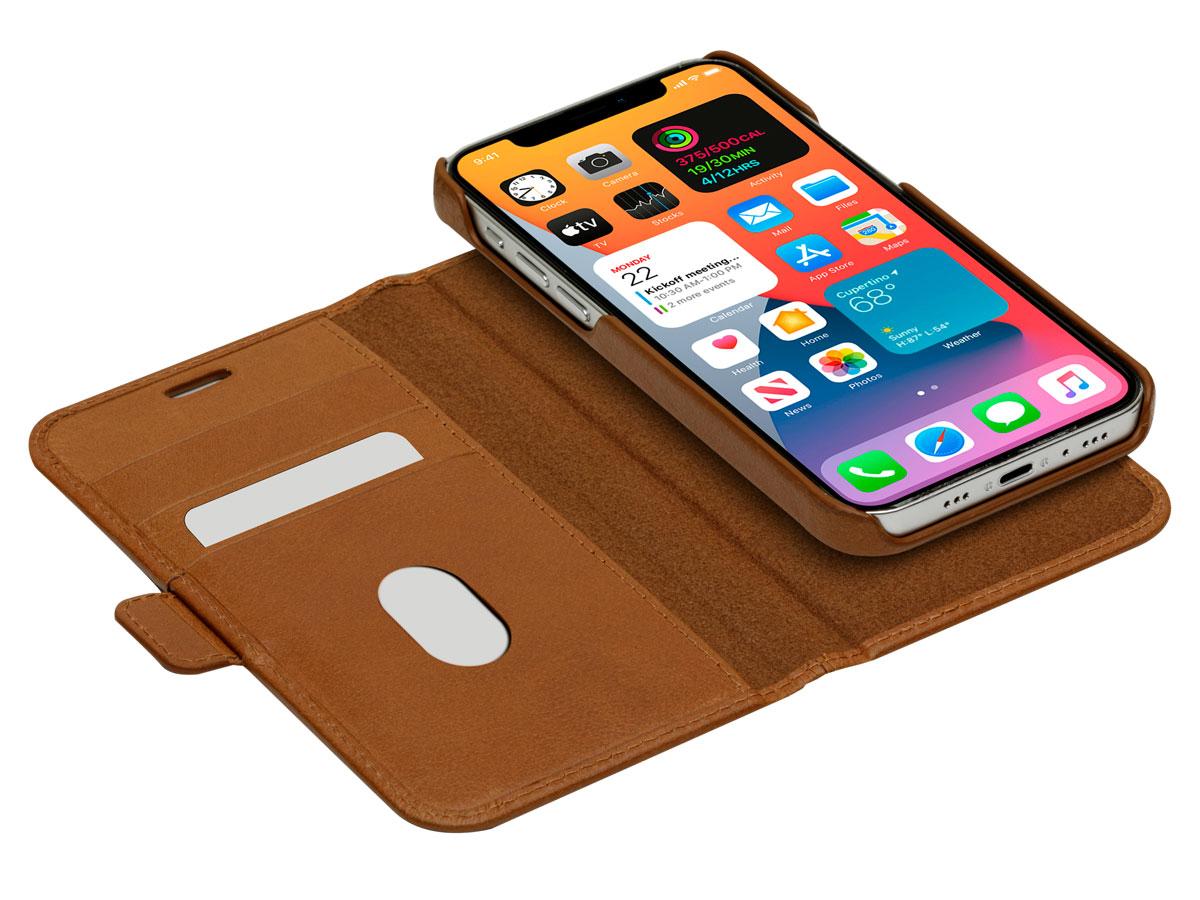dbramante1928 Lynge 2in1 Case Tan - iPhone 13 Hoesje Leer