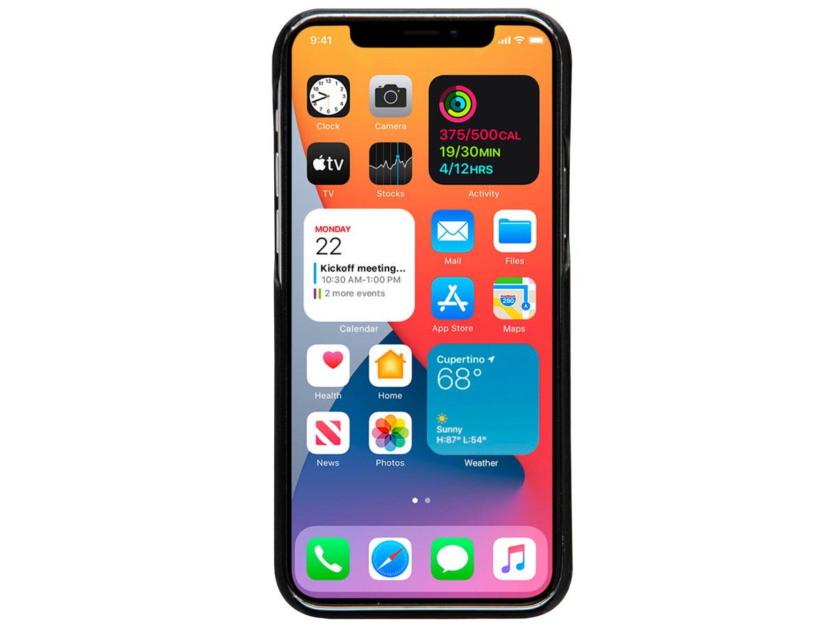 dbramante1928 Lynge 2in1 Case Zwart - iPhone 13 Pro Hoesje Leer