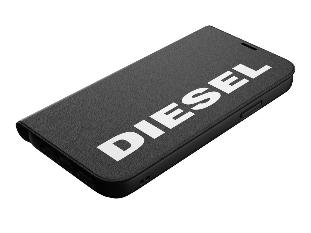 Diesel Logo Booklet Case - iPhone 12/12 Pro hoesje