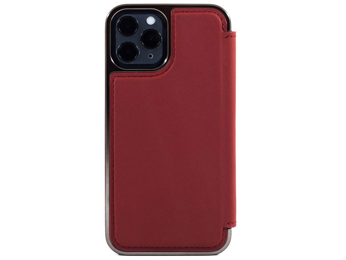Greenwich Blake MagSafe Leather Folio Fireglow - iPhone 12/12 Pro Hoesje