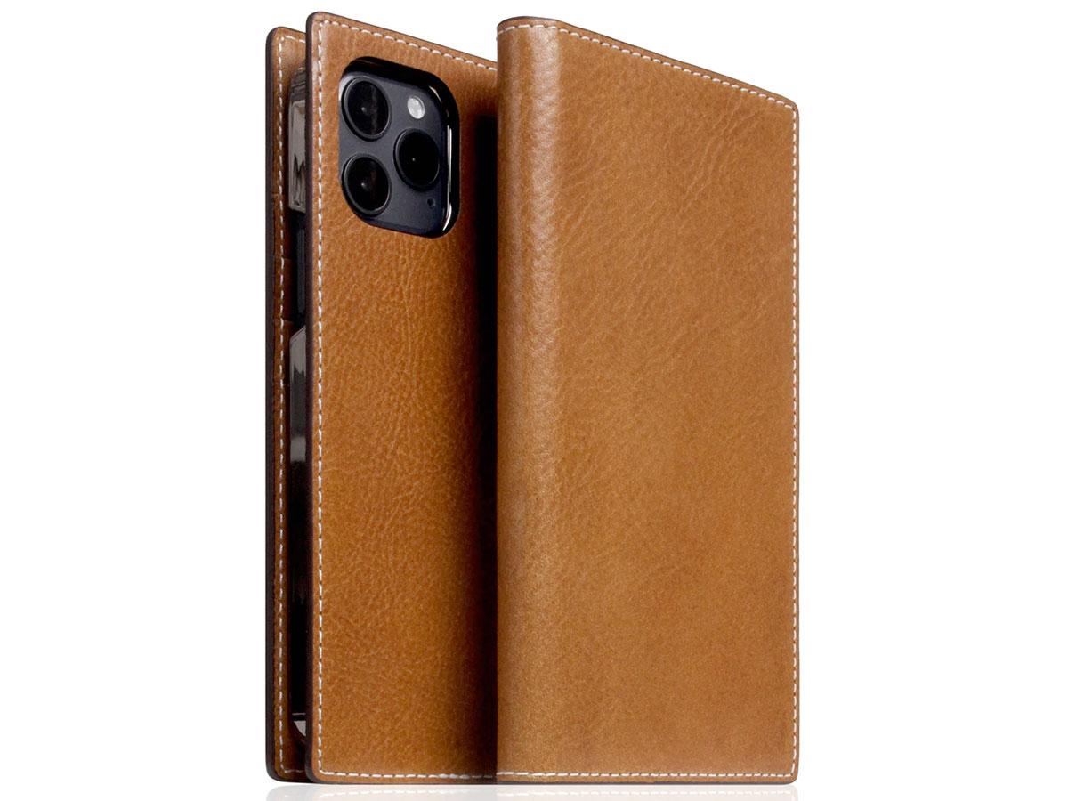 SLG Design D+ Temponata Bookcase Tan - iPhone 12 Mini hoesje Cognac