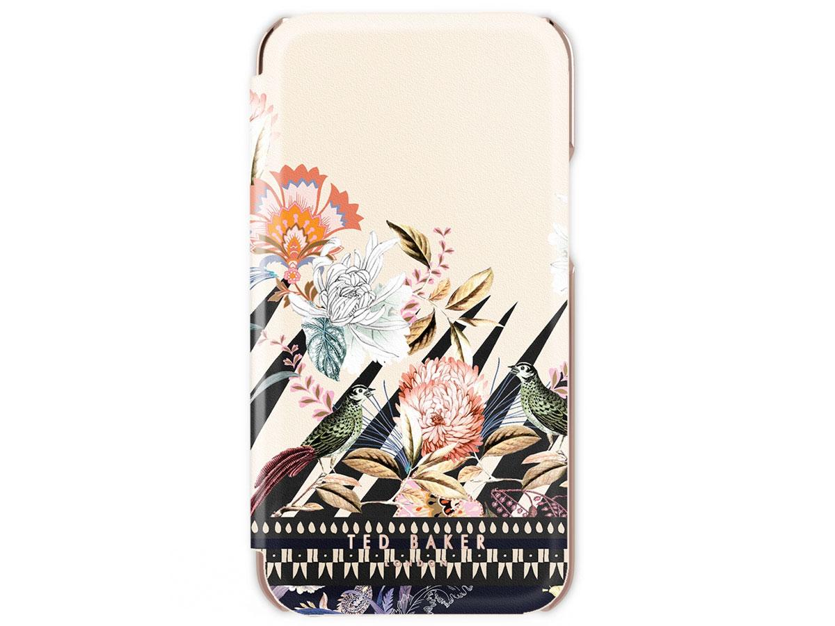 Ted Baker Decadence Folio Case - iPhone 12/12 Pro hoesje Bloemen Print