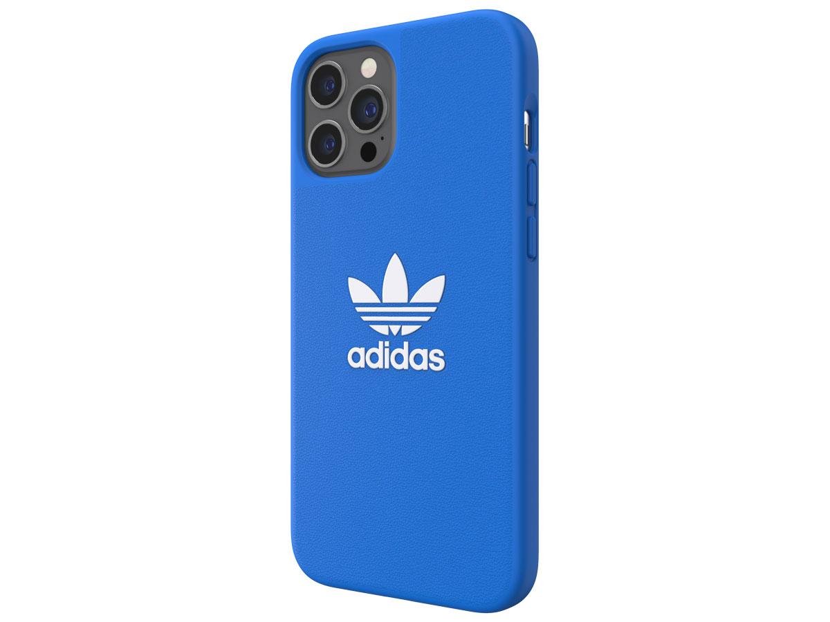 Adidas Originals Logo Case Blauw - iPhone 12 Pro Max hoesje