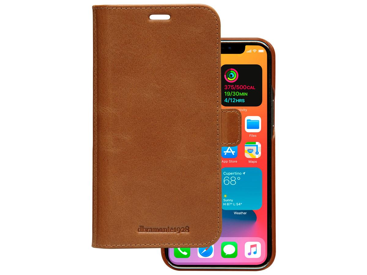 dbramante1928 Lynge Folio Tan - iPhone 12 Pro Max Hoesje Leer