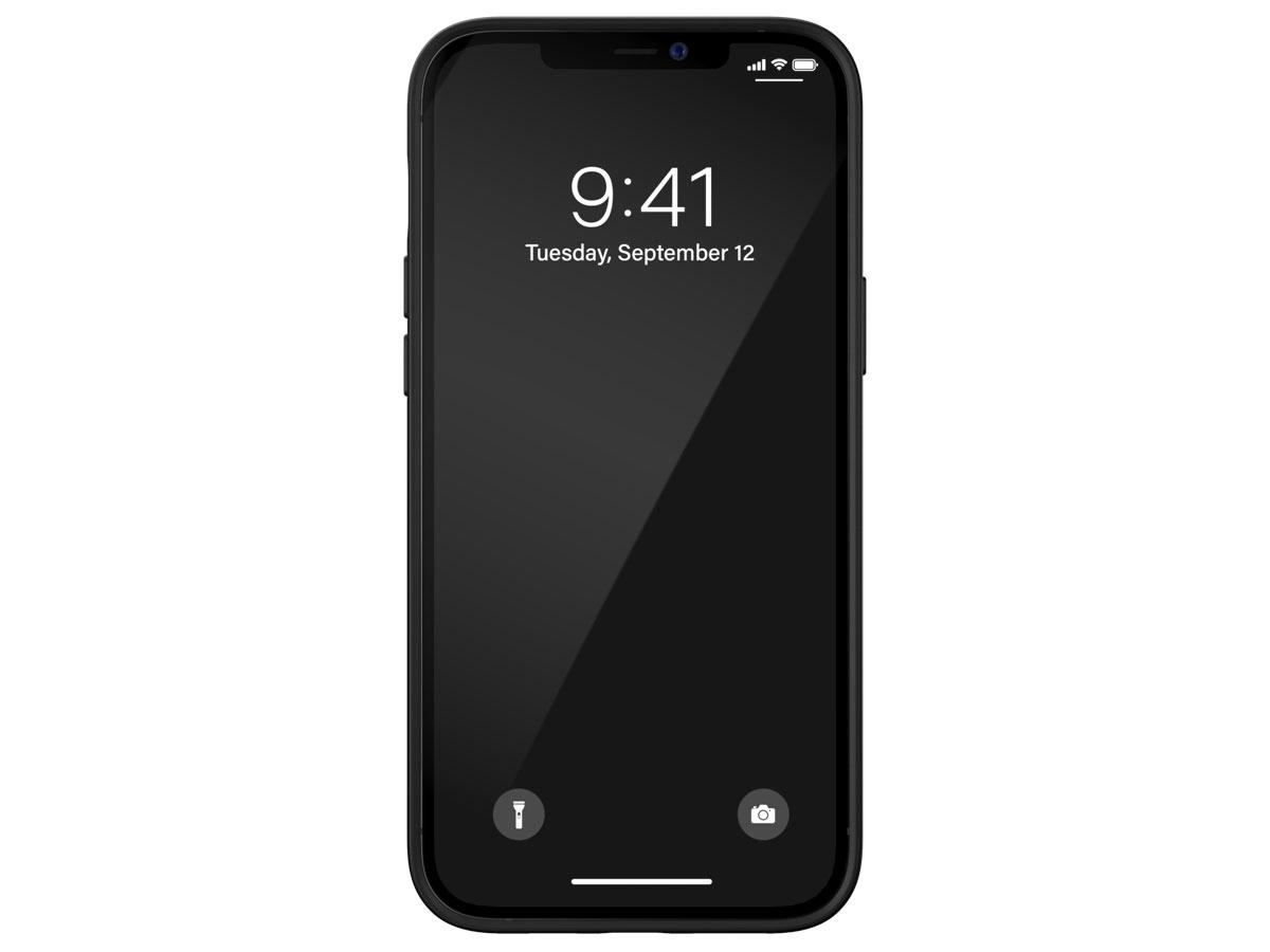 Diesel Logo Case Zwart - iPhone 12 Pro Max hoesje