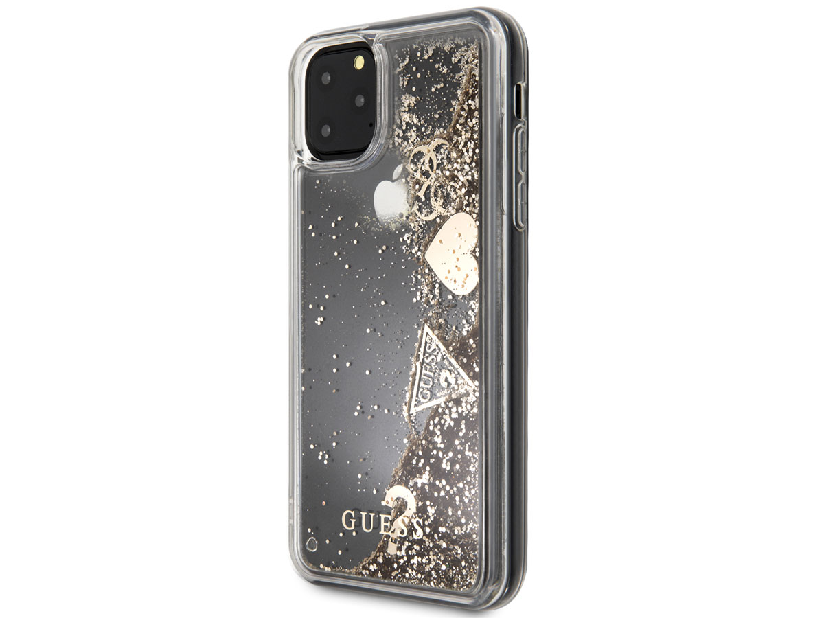 Guess Floating Charms Case Goud - iPhone 12 Pro Max hoesje