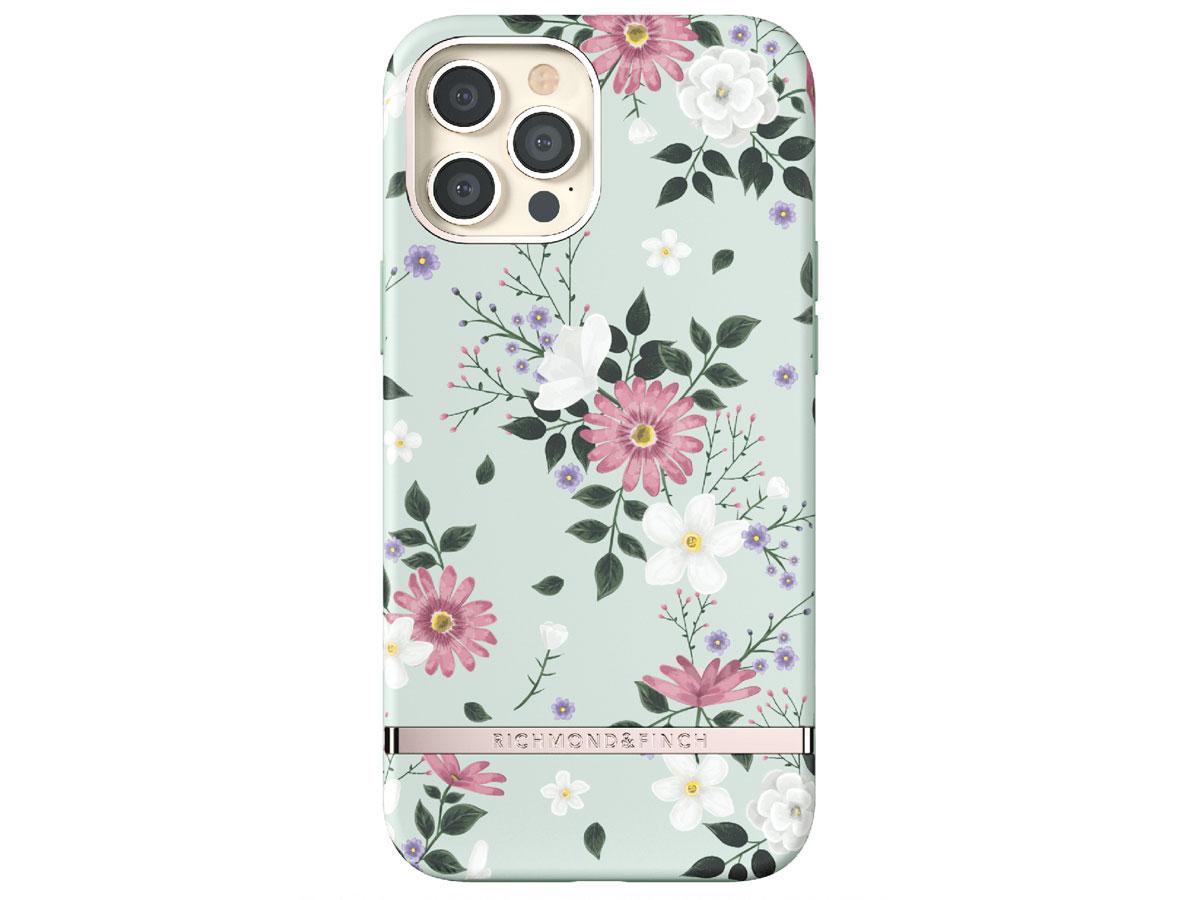 Richmond & Finch Sweet Mint Case - iPhone 12 Pro Max hoesje Mintgroen