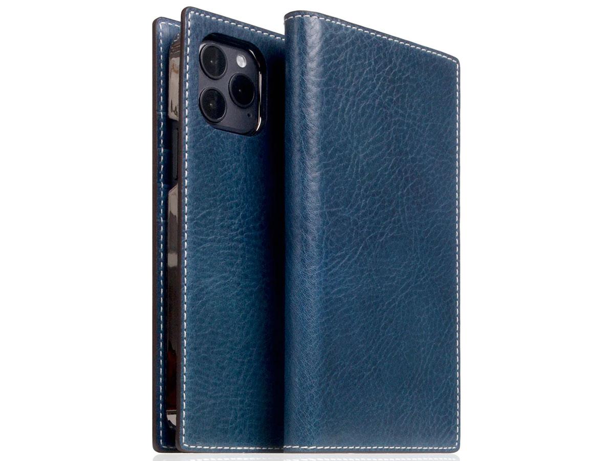 SLG Design D+ Temponata Bookcase Blauw - iPhone 12 Pro Max hoesje