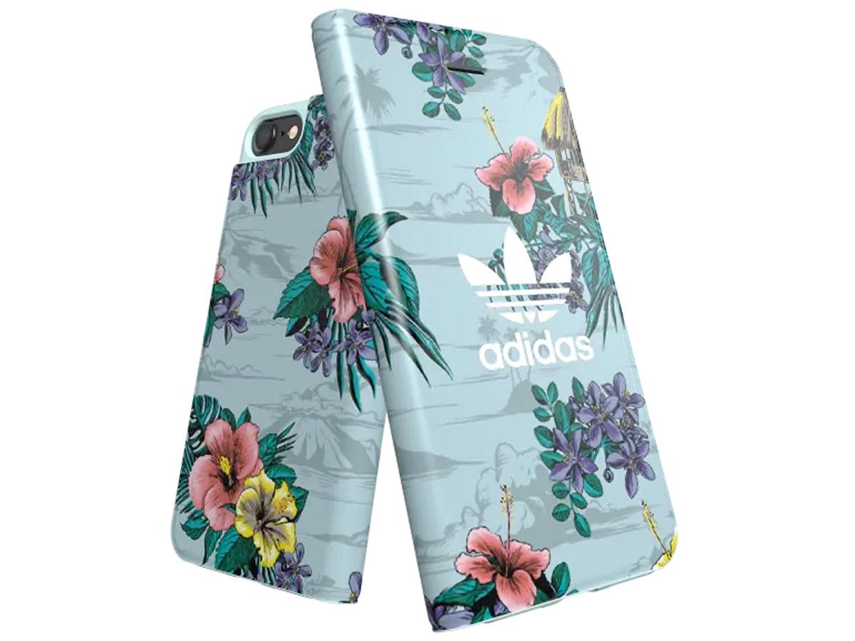 adidas Originals Floral Booklet - iPhone SE 2020/8/7/6 hoesje