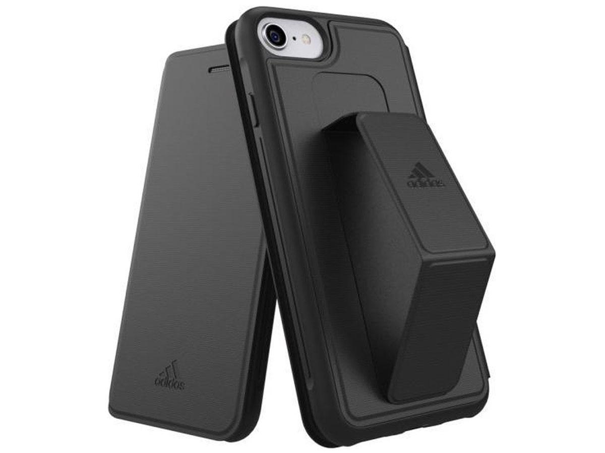 Adidas Sport Grip Folio Case - iPhone SE 2020 / 8 / 7 / 6(s) hoesje Zwart