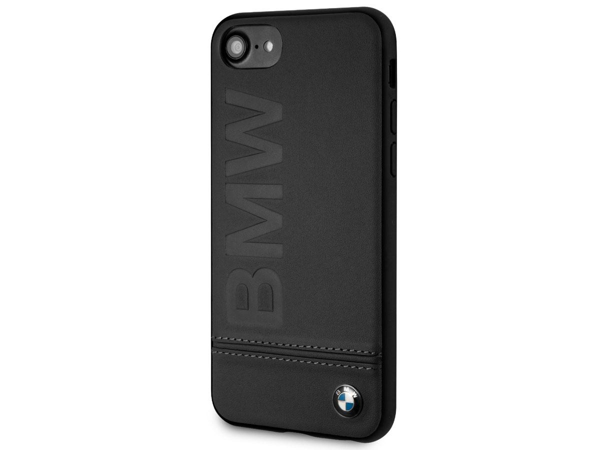 BMW Signature Case Zwart Leer - iPhone SE 2020 / 8 / 7 / 6 hoesje
