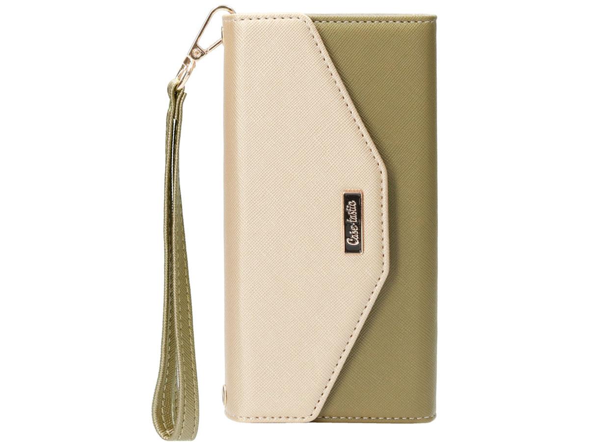 Casetastic Saffiano 2in1 Clutch Case Groen - iPhone SE 2020/8/7 hoesje