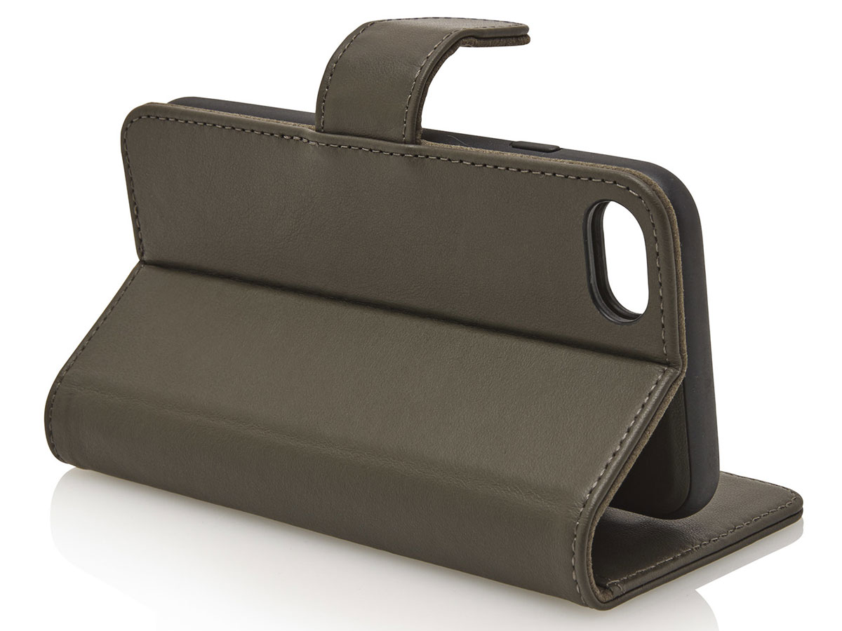 Castelijn & Beerens 2in1 Wallet Groen Leer - iPhone SE 2020/8/7 hoesje