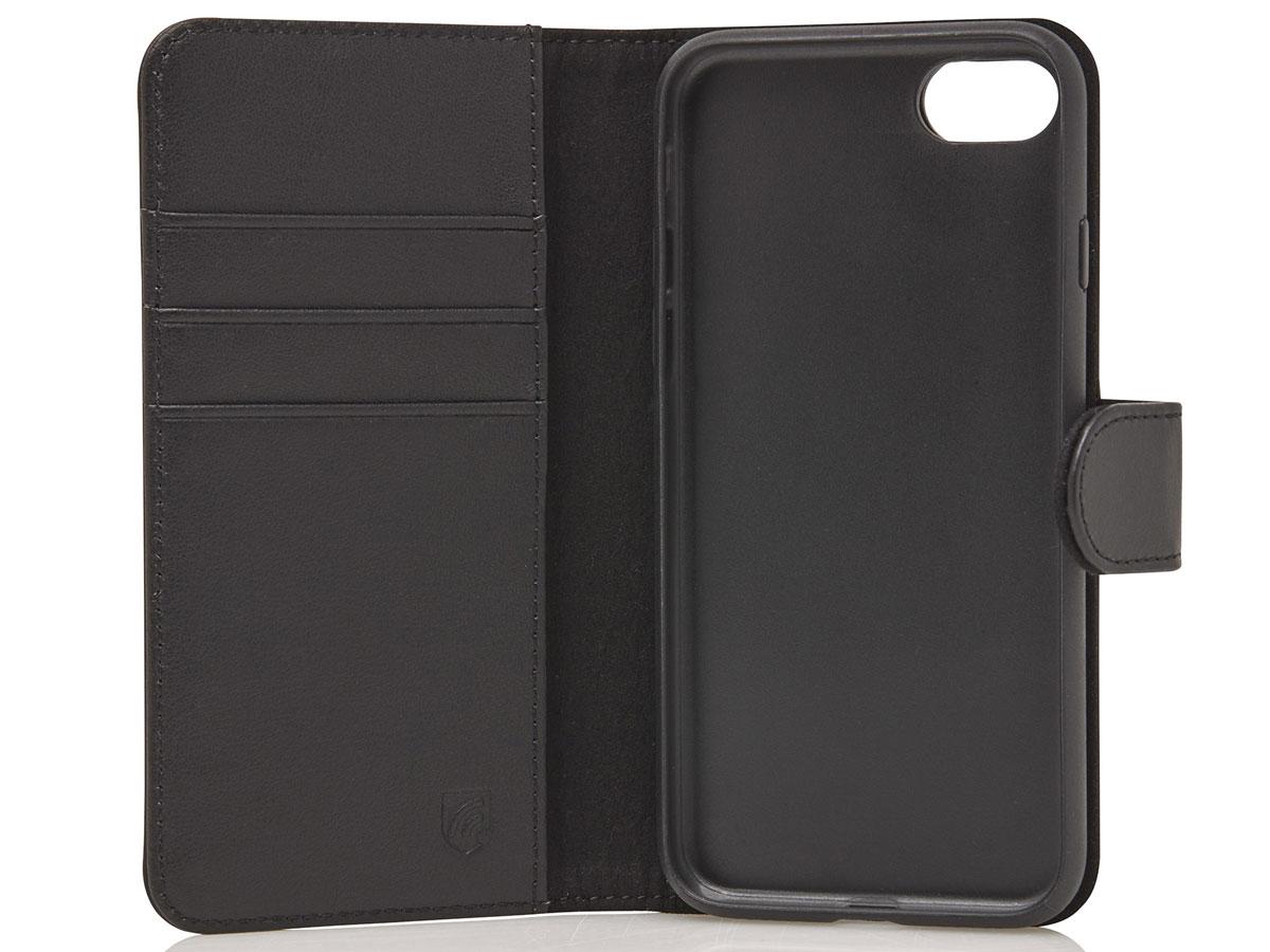 Castelijn & Beerens 2in1 Wallet Zwart Leer - iPhone SE 2020/8/7 hoesje
