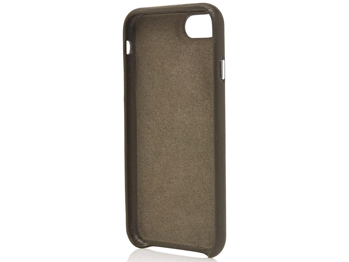 Castelijn & Beerens Back Case Groen Leer - iPhone SE 2020/8/7 hoesje