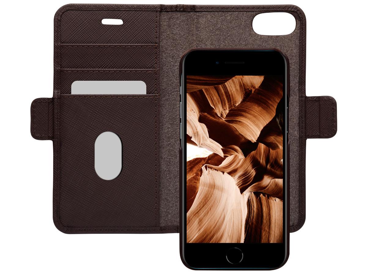 dbramante1928 MODE. 2in1 Folio Bruin - iPhone SE 2020/8/7 Hoesje